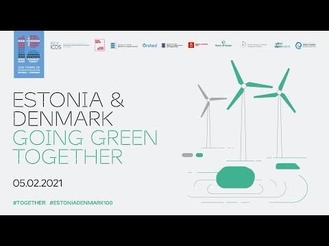 Estonia & Denmark Going Green Together virtual event