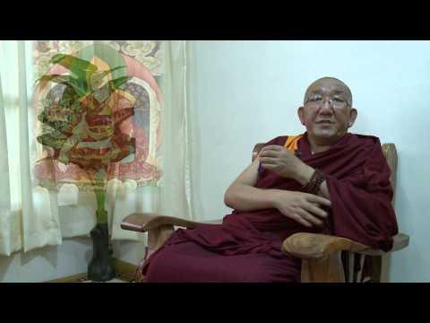 Arjia Rinpoche. Interview in Sera...