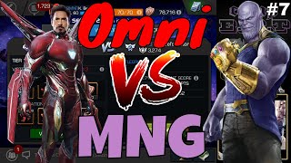 AW S2 #7: Omni Vs MNG  l  Marvel Contest Of Champions