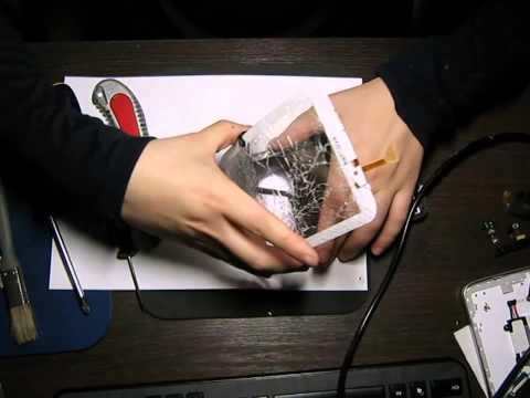 Как поменять сенсорное стекло и матрицу на планшете Samsung Galaxy Tab 3