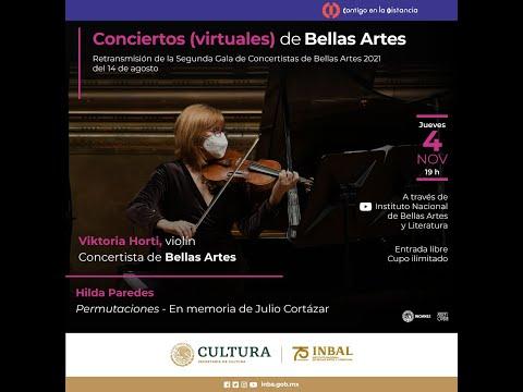 Conciertos (virtuales) de Bellas Artes / Viktoria Horti