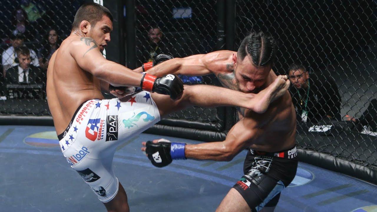 Adrian Guzman vs Danny Ramirez Full Fight | MMA | Combate Fresno