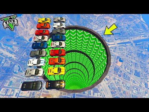 GTA 5 ONLINE 🐷 MEGA TUBO 100% PERICOLOSO !!!🐷 GARE STUNT 🐷N*145🐷 GTA 5 ITA 🐷 DAJE !!!