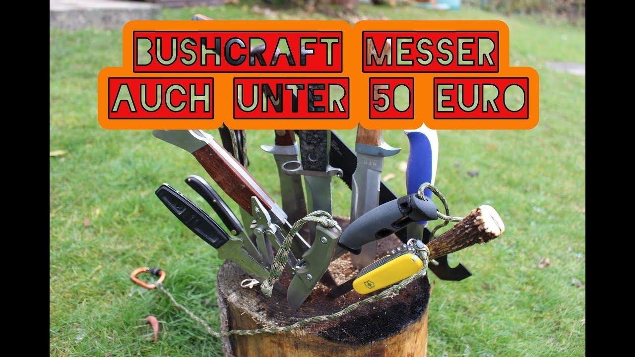 gute bushcraft messer auch unter 50 euro empfehlung youtube. Black Bedroom Furniture Sets. Home Design Ideas