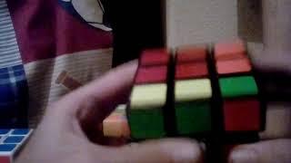 Solving my 4 rubiks cubes