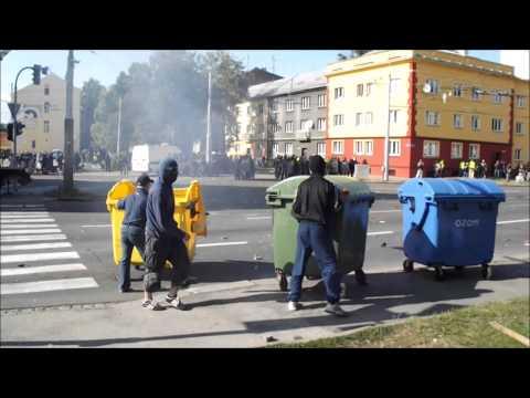 Ostrava 2013 proti zvýhodňování cikánů