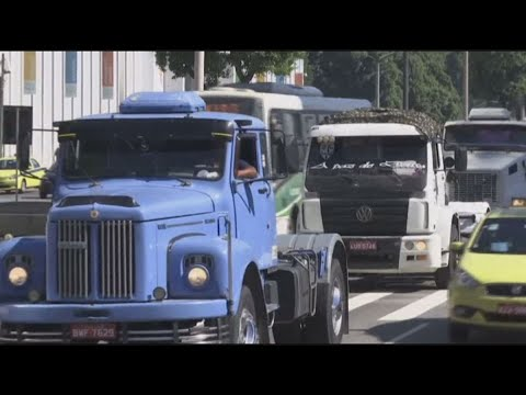 Truckers' Strike Strangles Brazil Food Deliveries