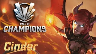 Call of Champions - Cinder Gameplay (Mage Class)