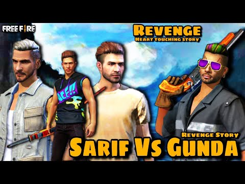 SHARIF VS GUNDA || REVENGE STORY || FREE FIRE SHORT ACTION MOVIE || MERA BADLA ||JAZZ FF GAMER
