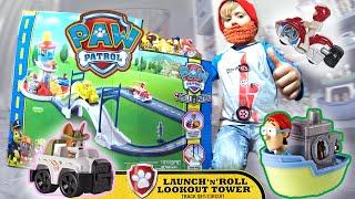 Щенячий Патруль на русском. Все серии. Paw Patrol - Launch N Roll Lookout Tower TrackSet Roll Patrol