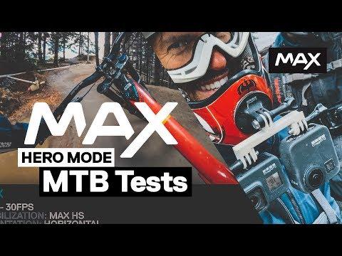 GoPro MAX: HERO Mode MTB Vs HERO8