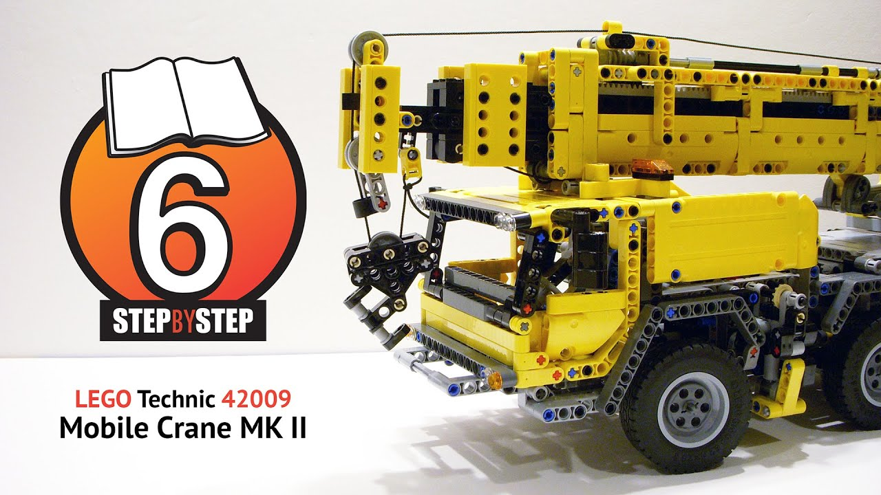 Lego Technic Mobile Crane Mk Ii 42009 Step By Step Speed
