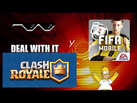 Intentando subir a arena 8 clash royale,y también a fifa mobile con pikachu373