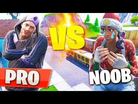 NOOB me RETA a 1VS1 y lo HUMILLO en FORTNITE modo creativo