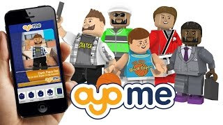 OYOme - personalized minifigures and packaging