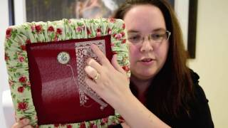 Stitching Fleur Flosstube #1