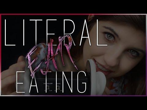 ASMR Literal Ear Eating ~ Reupload*