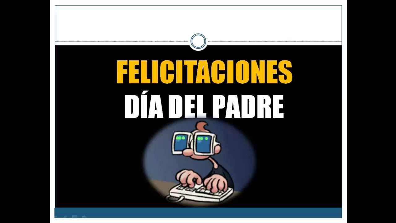 Felicitaciones Día Del Padre12 Frases Bonitas Y Originales