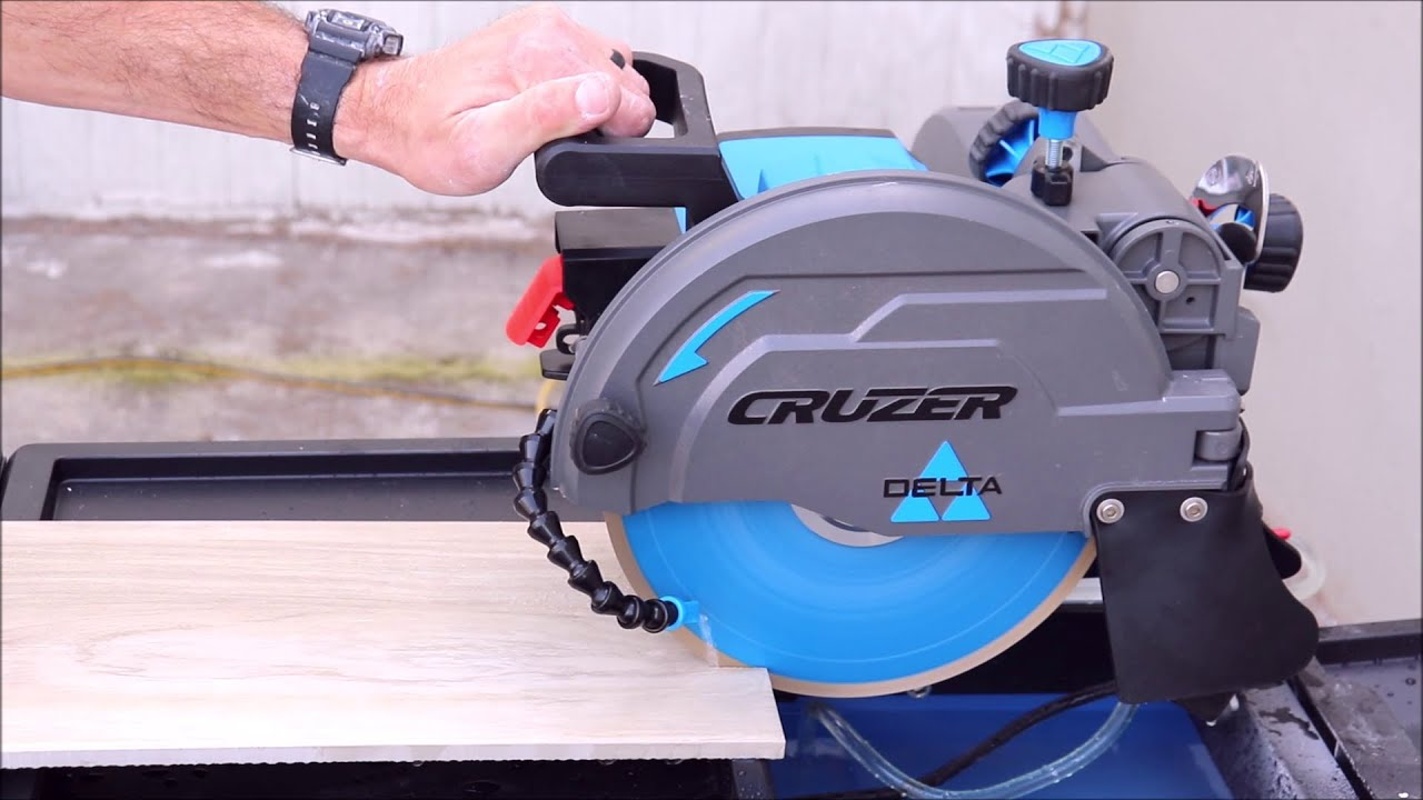 """Delta Cruzer 10"""" Tile Saw Full Review"""