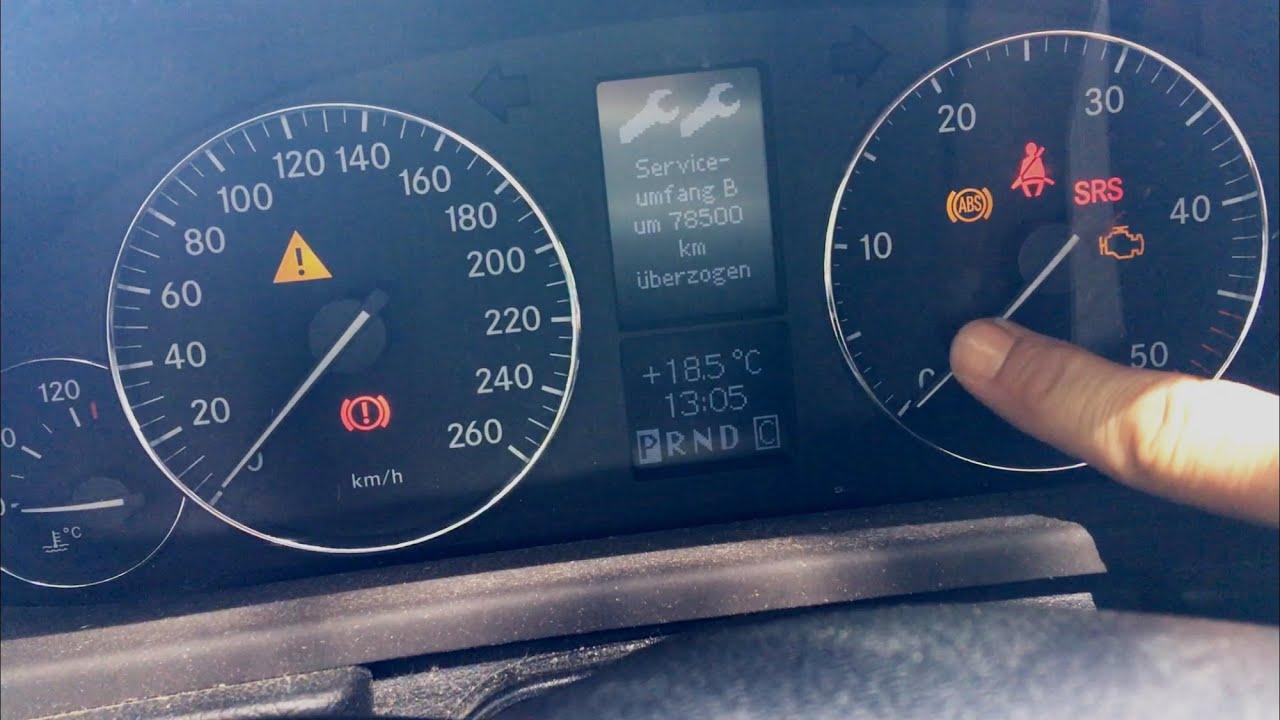 Warmstart Problem Mercedes W203 Anlasser Dreht Nicht