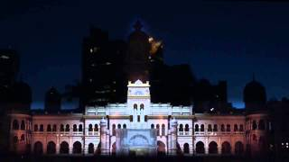 Visit Malaysia 2014 3D Projection Mapping @ Sultan Abdul Samad Building