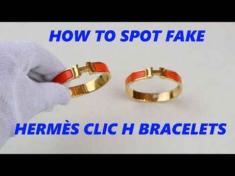 Hermes Clic H Bracelet AUTHENTICITY CHECK | Real Vs Fake Hermes Guide
