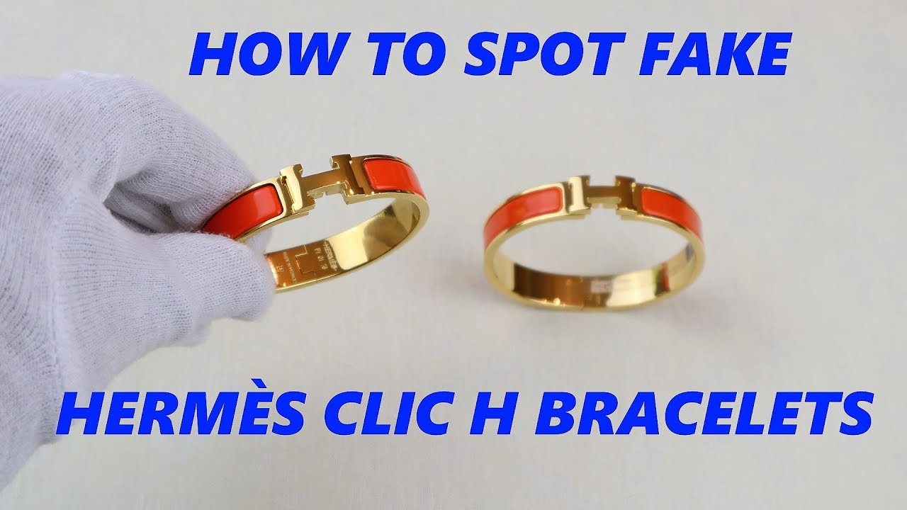 Hermes Clic H Bracelet Authenticity Check Real Vs Fake Guide