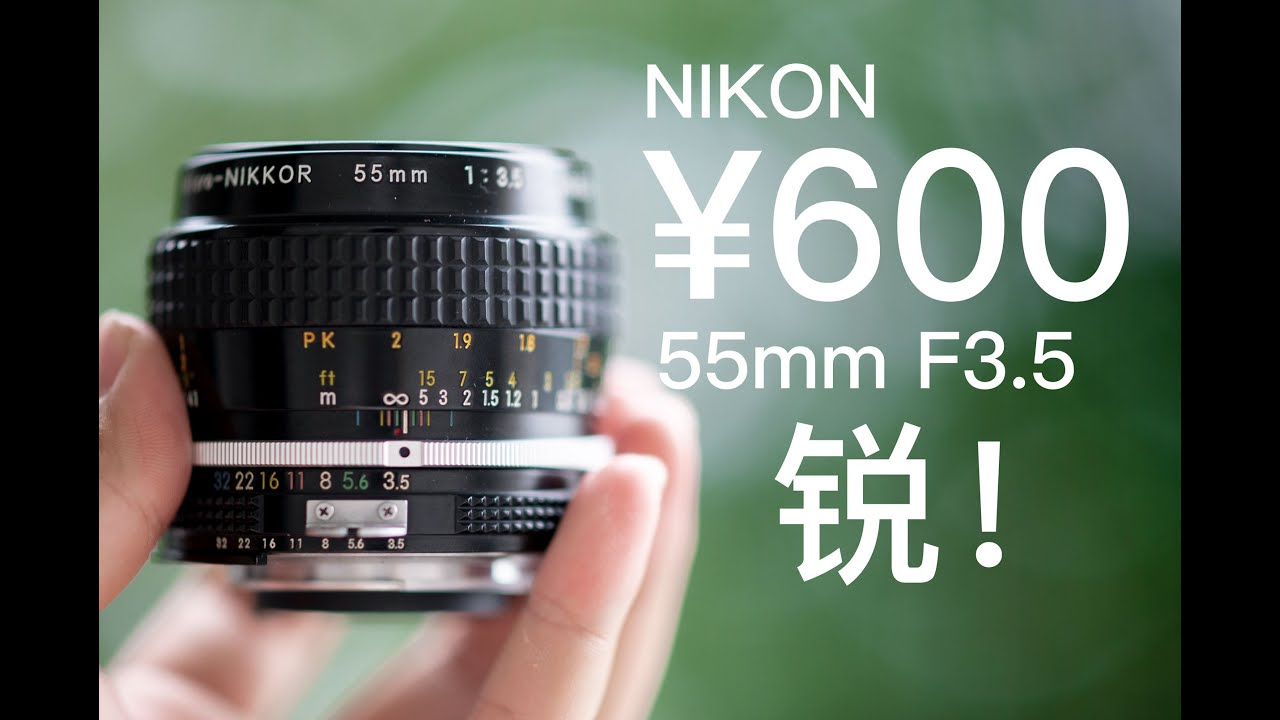 60年前的600块尼康微距镜头|你想象不到的锐利|超高性价比|胶片翻拍|Links 4K