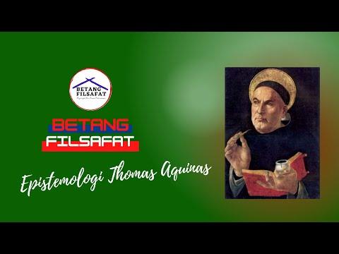 [KFT Katarina Siena IV] Epistemologi Thomas Aquinas