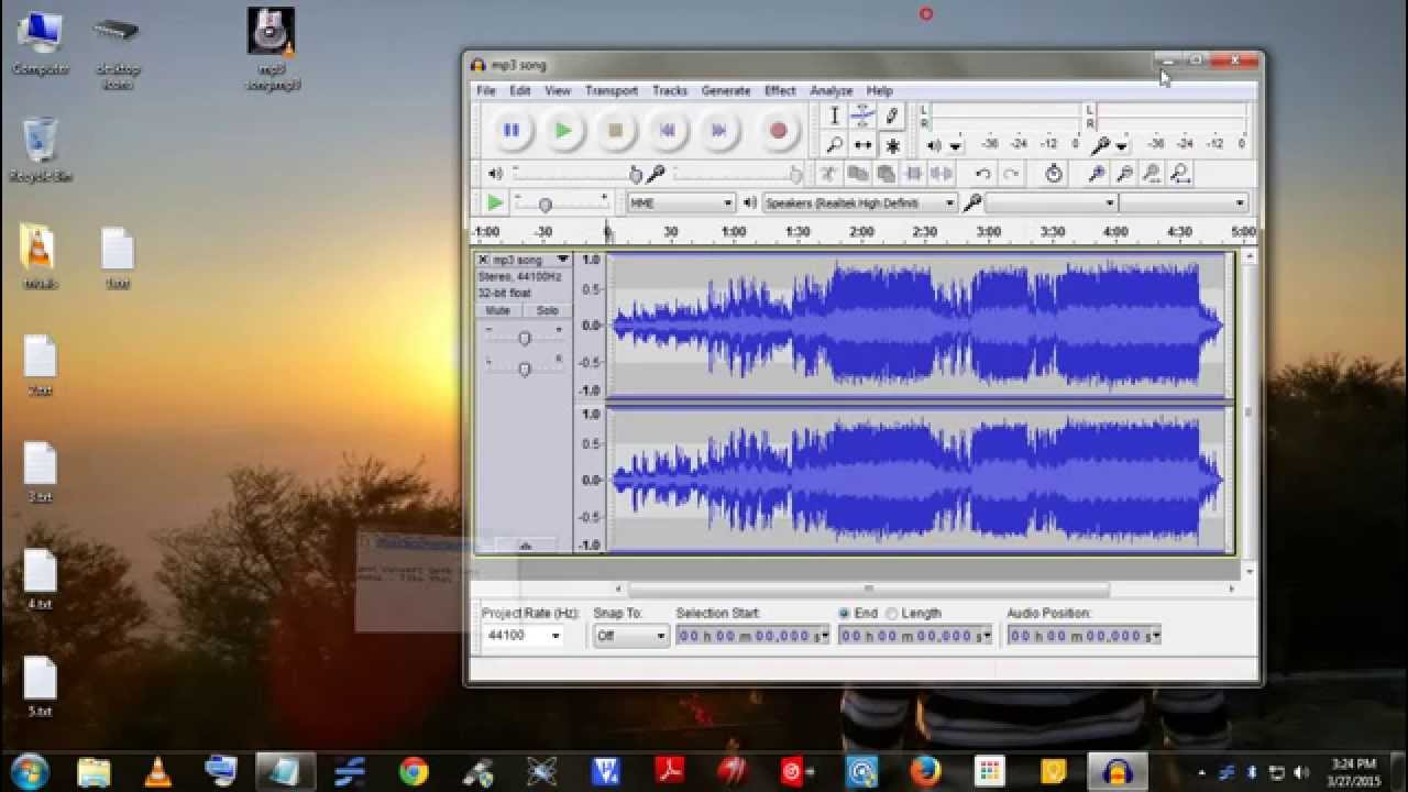 Convert Normal Mp3 Song Into Instrumental Remove Singer S Voice From The You