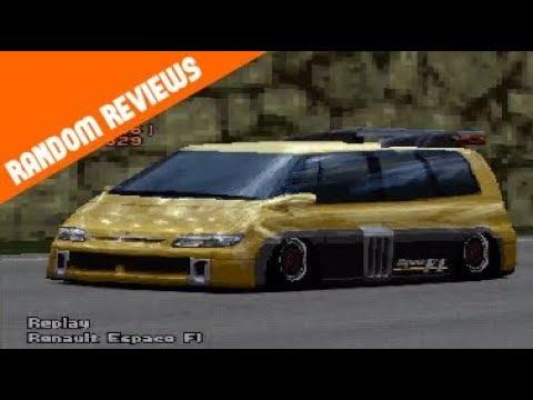 Gran Turismo 2 - Renault Espace F1 REVIEW