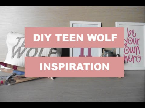 DIY Room Decor inspiration Teen Wolf YouTube