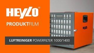 Luftreiniger PowerFilter 1000 / 1400  [Heylo]: Wie funktionieren mobile Bau-Luftreiniger?