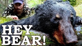 Catch and Cook {Clean} THIS Black BEAR in SURVIVAL CHALLENGE! Ep2