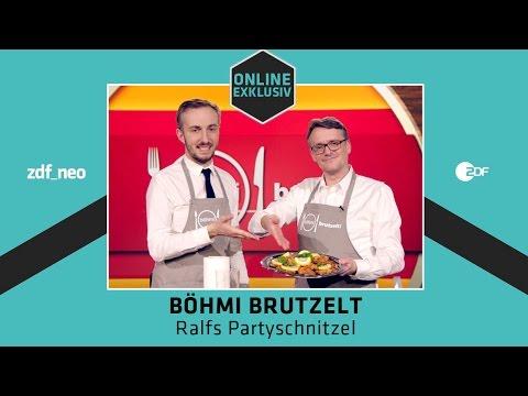 Böhmi brutzelt Partyfood - Ralfs Partyschnitzel   NEO MAGAZIN ROYALE mit Jan Böhmermann