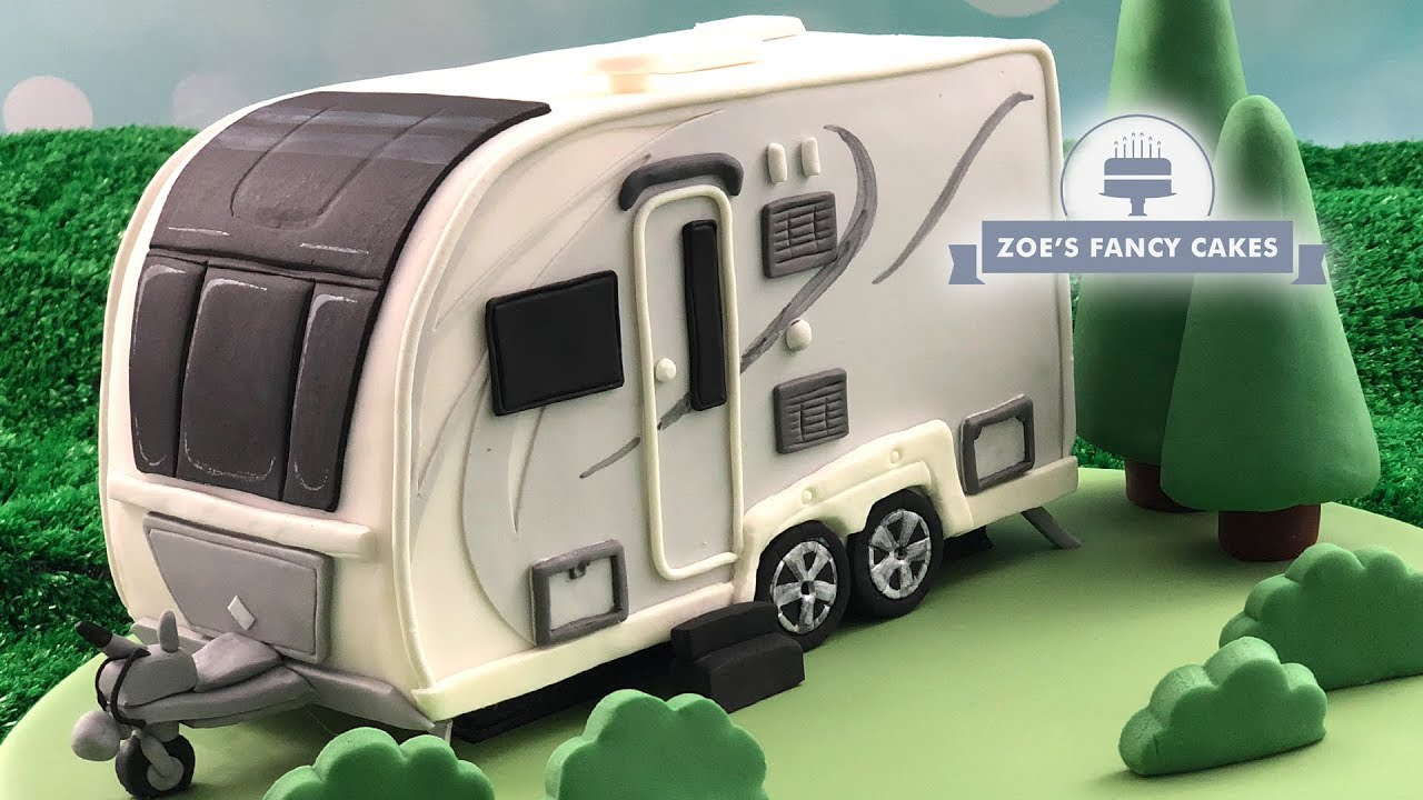 Caravan Cake Tutorial Youtube