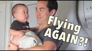 FLYING AGAIN?! - November 04, 2014 - itsJudysLife Daily Vlog
