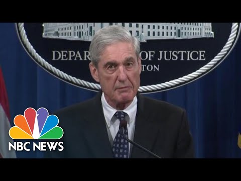 Why Mueller Statement Could Create Conflicting Pressure For Congress | NBC News