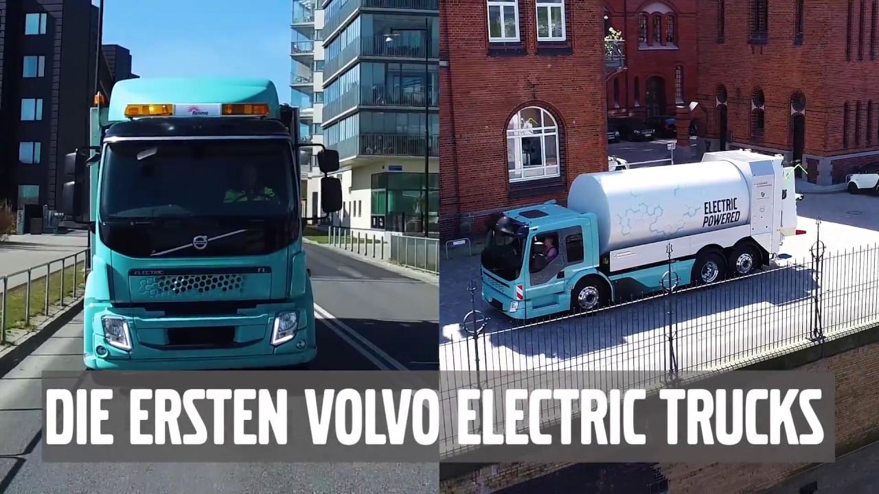Elektro Lkw - Volvo Trucks