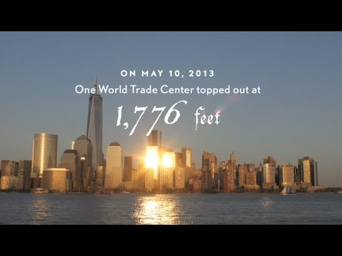 One World Trade Center Time-Lapse: Spire Rising - 9/11 Tribute