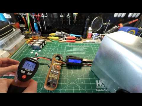 Group One 80amp & 120amp Continuous Current Lipo Load Testing