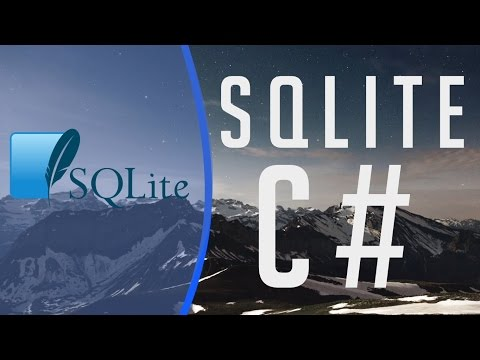 Connect C# Application to SQLite Database and interact with