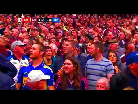 Last Minute + Celebrations  - Galway v Tipperary -  2017 Hurling Championship