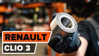 Montavimo Gofruotoji Membrana Vairavimas RENAULT CLIO: vaizdo pamokomis