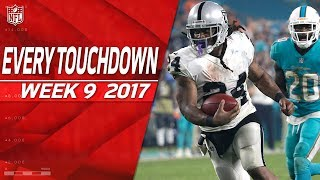 Every Touchdown from Week 9 | 2017 NFL Highlights