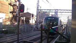 西武鉄道40102F 所沢発車してすぐに緊急停車 準急飯能行
