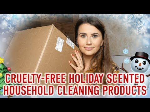 Holiday Scented Household Cleaning Products (cruelty-free & vegan) - Logical Harmony