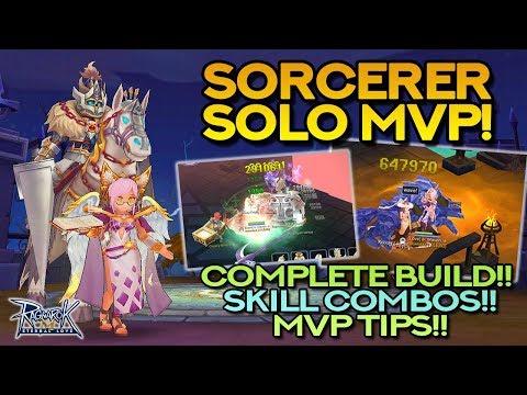 SORCERER SOLO MVP BUILD!! Stats, Skills, Runes, Equipment, Tips