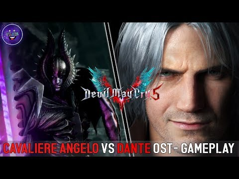 DEVIL MAY CRY 5 DANTE VS CAVALIERE ANGELO | UPSCALE OST thumbnail