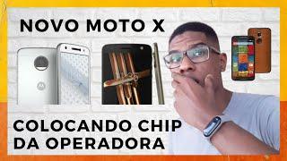Moto X 2014 - 2º Geração | Colocando Nano - SIM - Chip da operadora